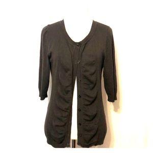 United States Sweaters gray cardigan size medium